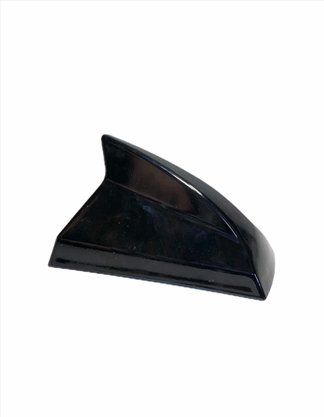 Antena Automotiva Tubarao Shark Preto Universal Decorativa - Antico