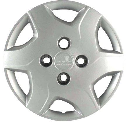 Calota Aro 13 Chevrolet Celta 2012 Até 2015 Cubo Baixo Parafusada GRID
