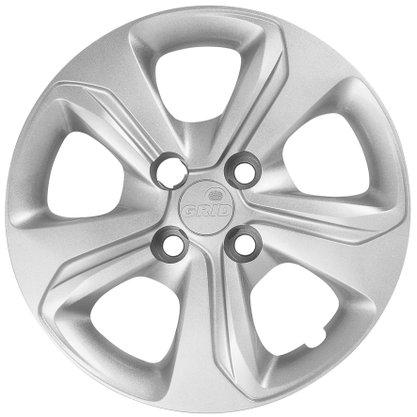Calota Aro 14 Chevrolet Onix 2020 2021 Cubo Baixo Parafusada GRID