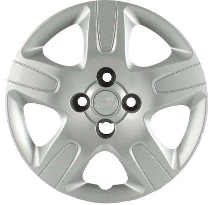 Calota Aro 14 Fiat Strada  2013 Até 2020 Cubo Alto Parafusada GRID