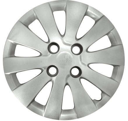 Calota Aro 14 Hyundai HB20 2012 Até 2015 Cubo Baixo Parafusada GRID