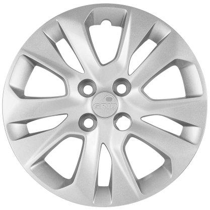 Calota Aro 15 Chevrolet Onix Prisma 2020 2021 Cubo Padrão Parafusada GRID