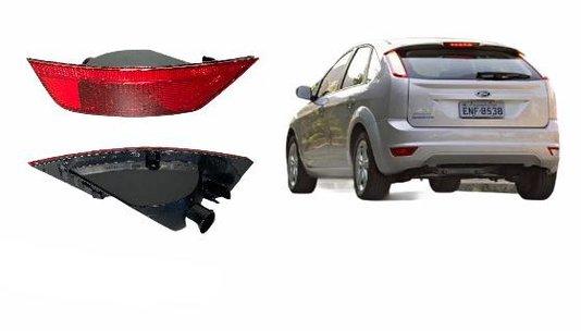 Lanterna Traseira Parachoque Focus 2007 a 2013 Luz de Neblina Lado Esquerdo Motorista