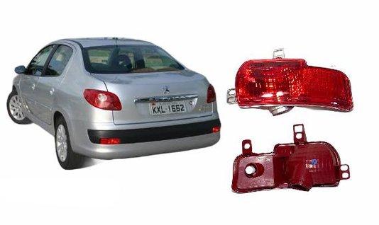 Lanterna Traseira Parachoque Peugeot Sedan e SW 2008 a 2013 Lado Direito Passageiro - FITAM