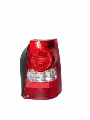 Lanterna Traseira Parati G4 2006 a 2013 Bicolor Carcaça Preta Lado Direito Passageiro - FITAM