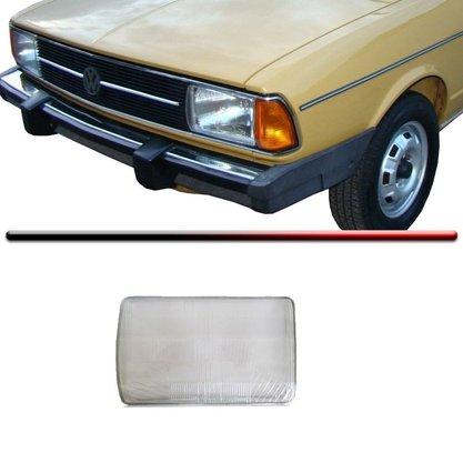 Lente Vidro Farol Passat 1979 Até 1982 Esquerdo Motorista