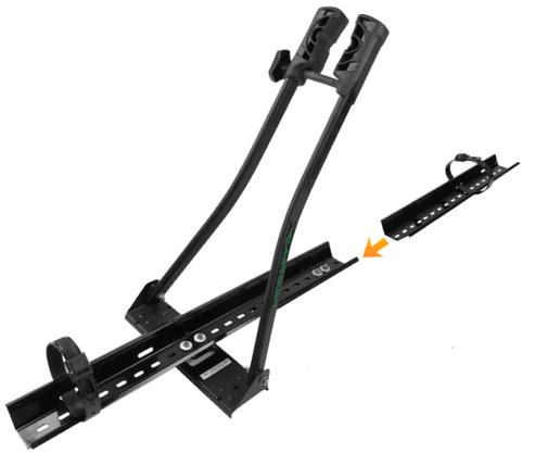 Rack de Teto para Bicicleta Suporte Multi Bike Preto - Long Life