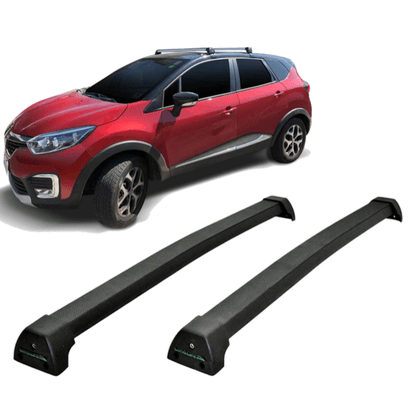 Rack de Teto Travessa Captur 2017 a 2020 Preto Sports Long Life
