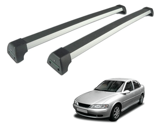 Rack de Teto Vectra 1994 a 2005 Prata Sports Long Life