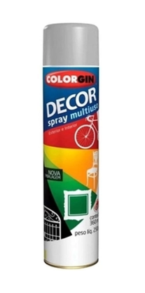 Tinta Spray Aluminio Uso Geral 360ml COLORGIN