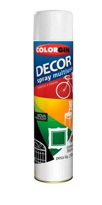 Tinta Spray Branco Brilho Uso Geral 360ml COLORGIN