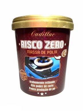 Massa de Polir Risco Zero 1kg - Cadillac